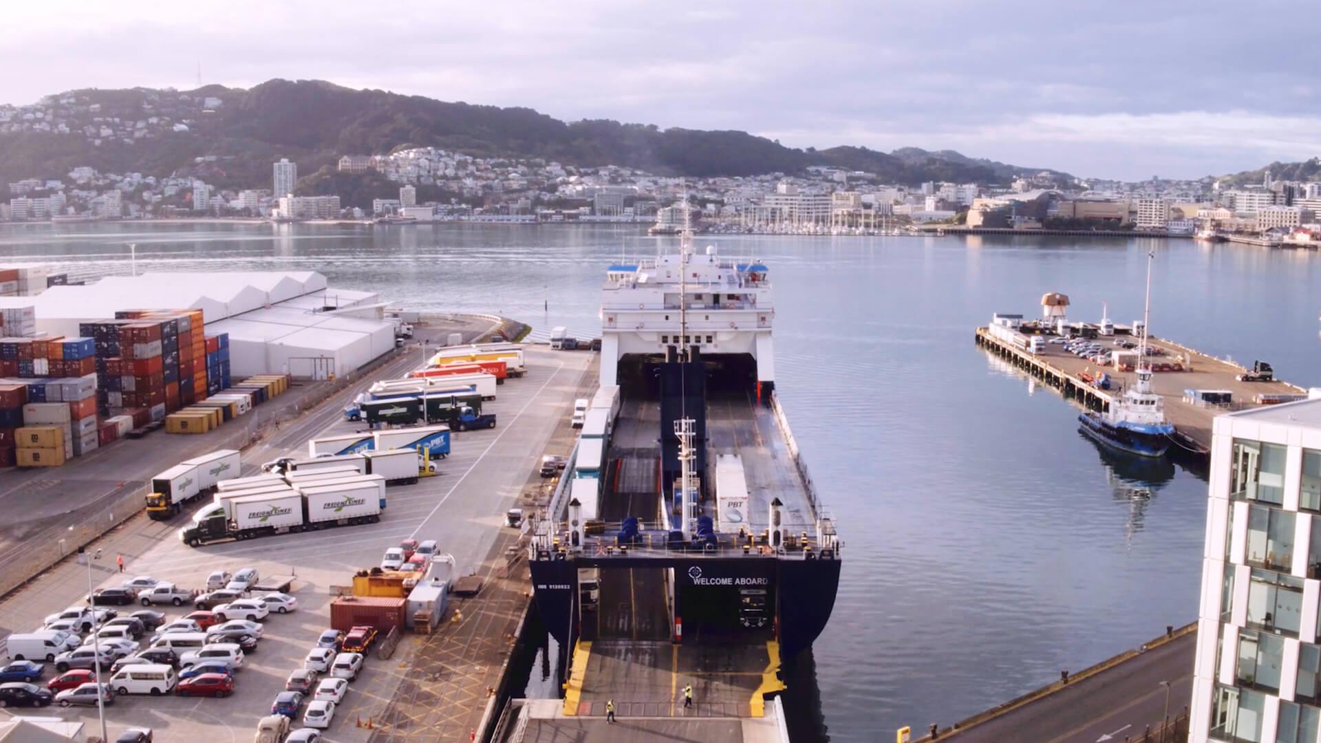 Bluebridge Ferry Freight Information