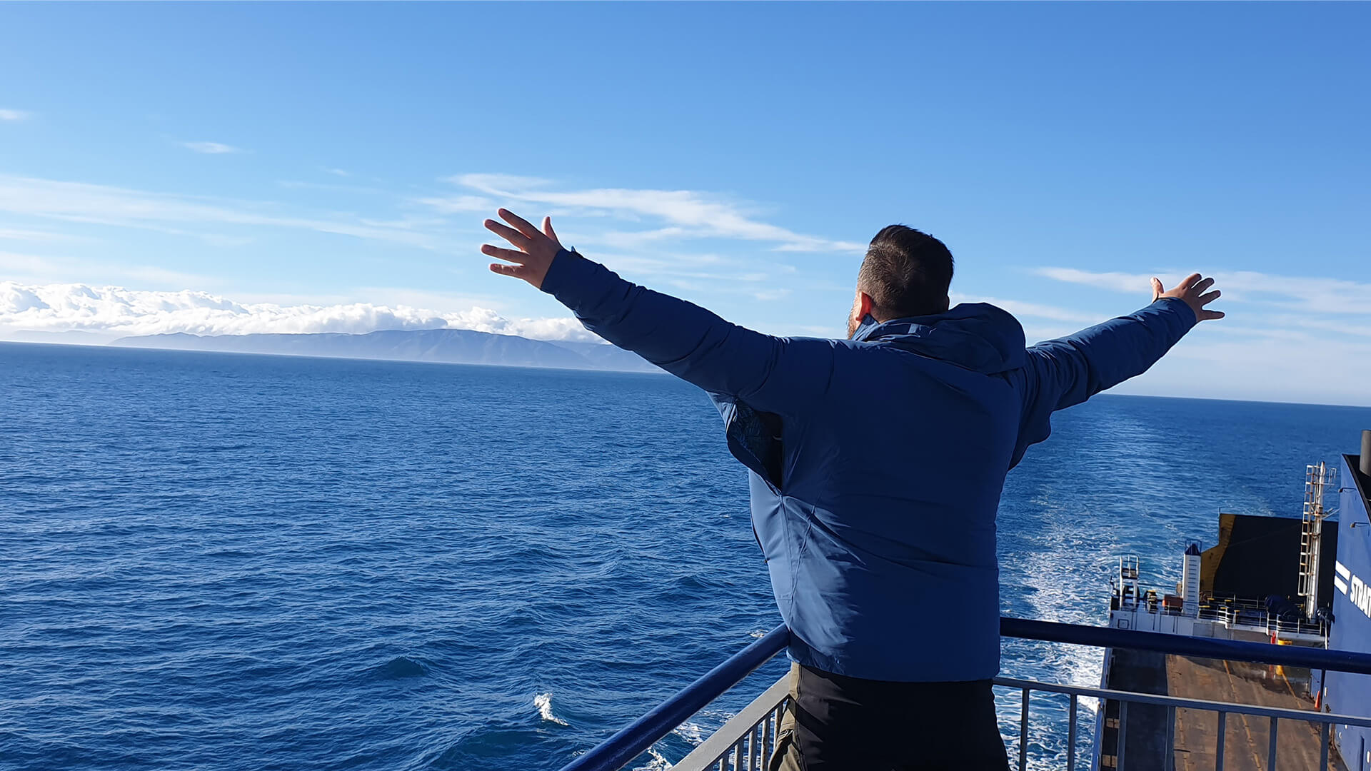 Bluebridge Cook Strait Ferry Top Deck